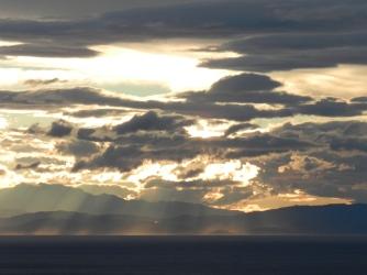 Lever de soleil depuis Praiano