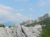 Mont Ventoux depuis les Dentelles de Montmirail