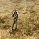 L'astia est un long bâton utilisé par les bergers afin de circuler plus aisément dans la montagne