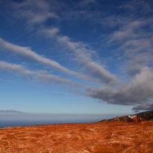 Entre Agulo et Las Rosas - Au loin, le Teide de Tenerife